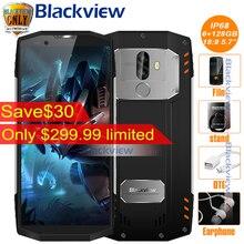 "2017 BLACKVIEW BV9000 PRO 5.7 ""18:9 Smartphone IP68 A Prueba de agua 6G + 128G P25 2.6 GHz Android 7.1 4180 mAh Huella Digital de Doble Cámara NFC"