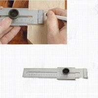 LS200 scriber/riscador espiga Calibre de Marcação de Aço (aço Inoxidável) 0-200 MM  Madeira Ferramenta de Medição