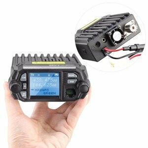 Image 2 - QYT KT 8900D Radio transceiver 136~174/400~480MHz car mobile transceiver quad band display transceiver 25W + antenna