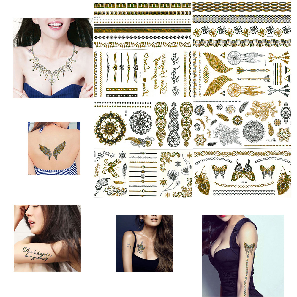 Vander Gold Tattoo Sex Products Necklace Bracelets Flash Tattoo
