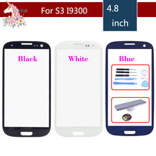 For Samsung S3 GT-I9300 I9300 i9305 I747 And S3 Mini I8190 GT-i8190 Touch Screen Panel Front Outer Glass Lens Touch Screen Panel цены