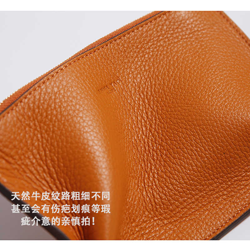 EMMA YAO genuine leather women's leather coin purses fashion mini wallet card holder hot sales