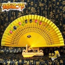 Большое испанское дерево вентилятор складной вентилятор высокого класса ремесло подарки современный Fancywork Шарм Мульти Стиль ручной работы деревянные веера