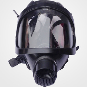 Image 4 - חדש ריסוס Respirator גדול ראיית מלא פנים גז מסכת תעשיית בטיחות עבודה מקצועית הגנת הנשמה מסיכת גז