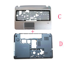 NEW Bottom Base Case Cover&Palmrest upper case cover for HP Envy Pavilion M6 M6-1000 707886-001 AP0U9000100(China)