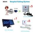 Больница Вызывая Система Беспроводной Вызова Медсестры 1 Монитор Приемник 10 Аварийной Сигнализации Звук Зуммера Бесплатная Доставка