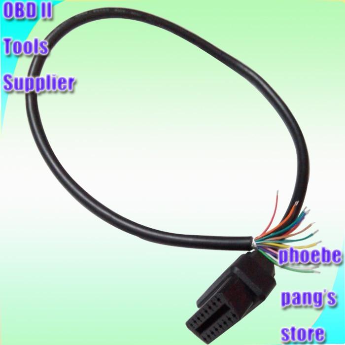 Высококачественные автомобильные аксессуары OBDII J1962f для открытия OBD2 OBD 2 16 PIN 16 PIN гнездовой соединительный кабель 0,6 м 1 штука