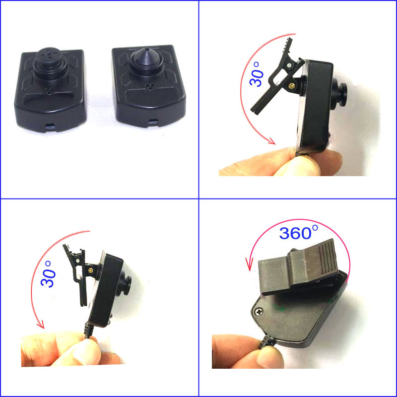 Wearable night vision camera with body clip mount  for body worn recorder / DC5V CCD 700TVL mini bullet cvbs ccd camera 700tvl with headset mount for mobile surveillance security video 5v