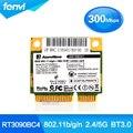 RT3090BC4 Ralink 300 150mbps Sem Fio Bluetooth Cartão wi-fi IEEE 802.11 b/g/n Wi-fi + BT Bluetooth 3.0 Cartão Combo 300 M AW-NB041 Wlan