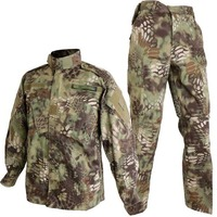 Army Military Combat Tactical BDU Uniform Kryptek Mandrake Camouflage Battlefield Suit Airsoft Paintball Hunting Clothing
