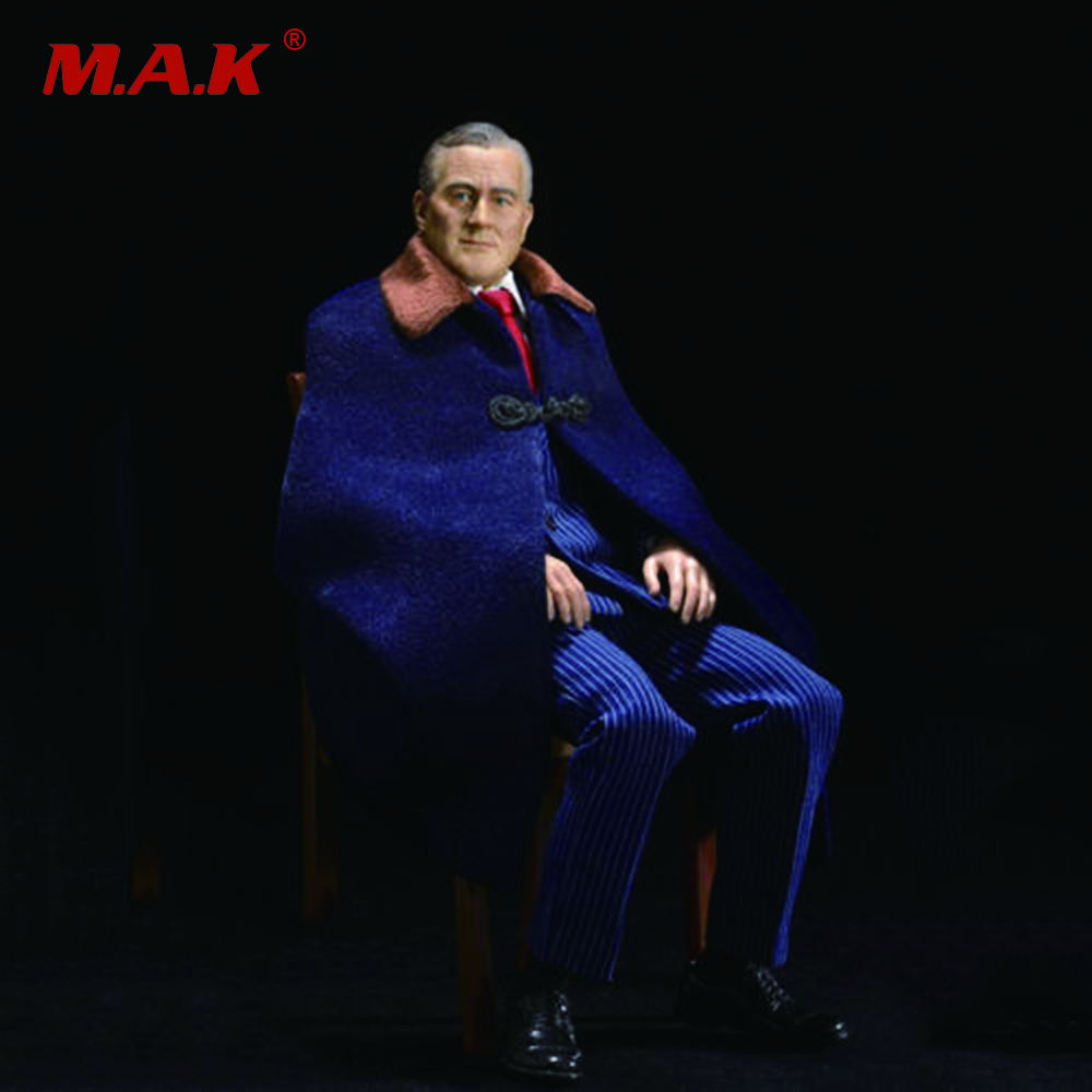 1/6 Scale USA President Franklin   D.Roosevelt Full Set Action Figure   With Chair for Toys Gifts Collections 1 6 scale full set male action figure kmf037 john wick retired killer keanu reeves figure model toys for gift collections
