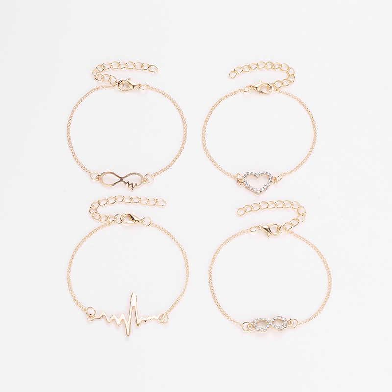Nowa bransoleta mankiet prosty złoty/srebrny trójkąt Alloy Armlet bransoletka biżuteria do ciała dla kobiet