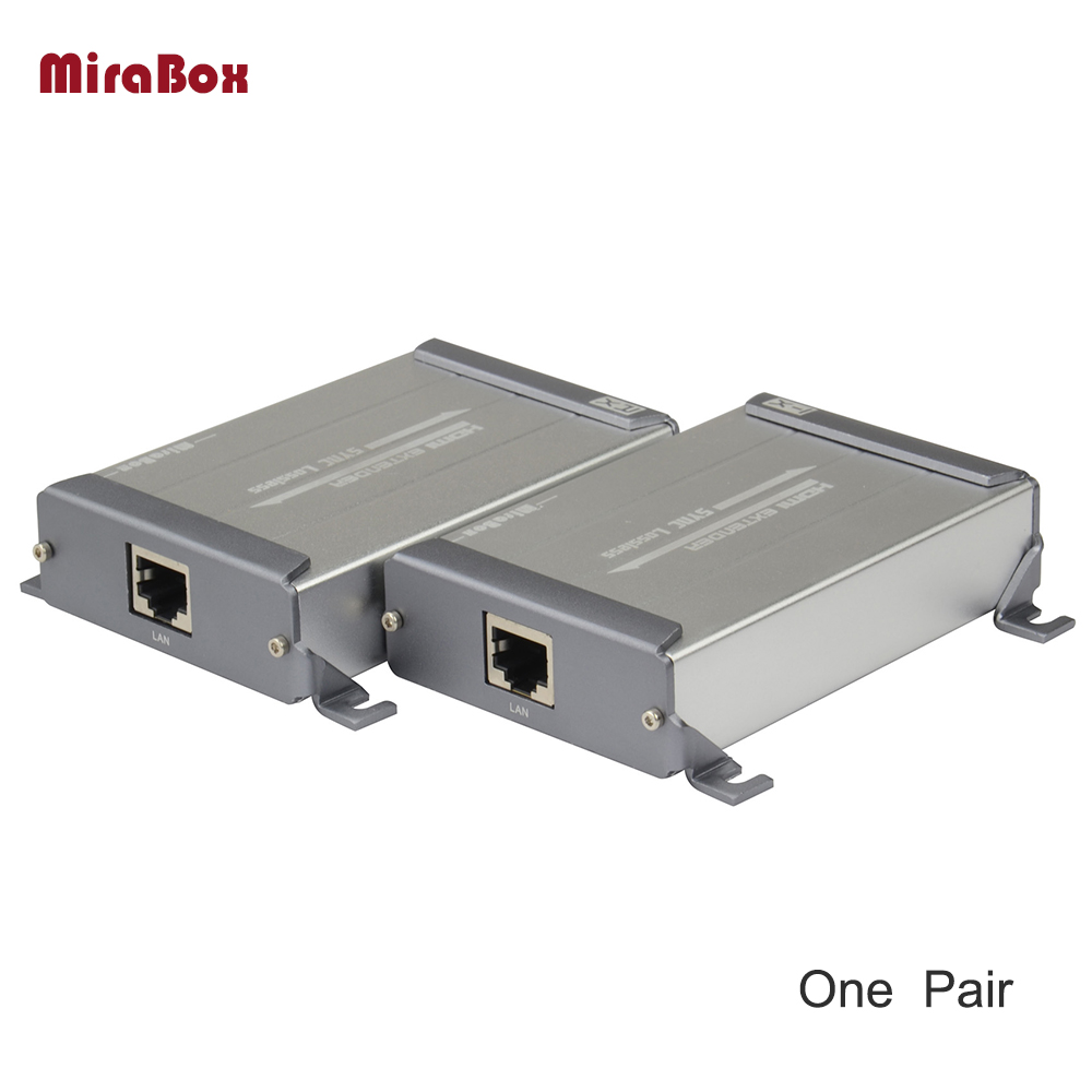 Mirabox HDMI Extender Over Cat5/Cat6/Cat6e/Cat5e/Ethernet Cable Support POE Lossless No-Delay 1080P Full HD 80 channels hdmi to dvb t modulator hdmi extender over coaxial