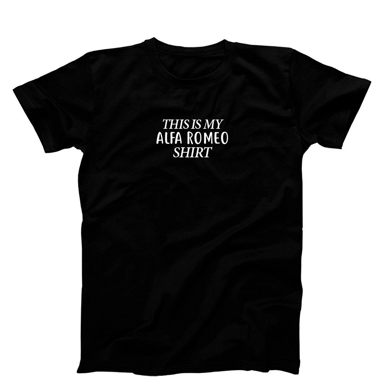 Gildan 3 OClock Gift Shop Alfa Romeo Shirt T-Shirt, Mens