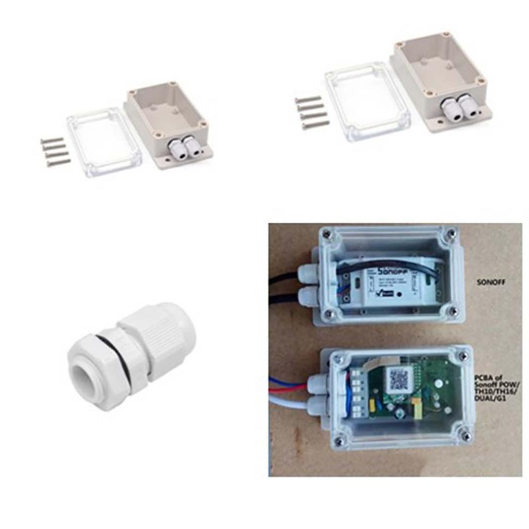 Wifi Switch Wireless Remote Control IP66 Waterproof Cover Case Energy saving and overall safe circuit protection(China)