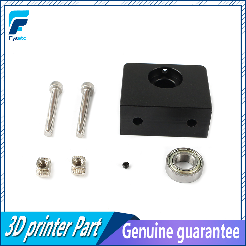 3D Printer Parts Aluminum Z-Axis Leadscrew Top Mount For Tornado Creality CR-10 ENDER 3 Ender 3 Pro Metal Z-Rod Bearing Holder