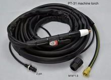 PT31 Plasma Torch Air Plasma Cutter Torch Fit CUT40 CUT50 23 Feet 7M Straight Machine Torch Head Body