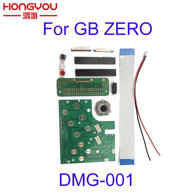 10sets Refit GB 6 Buttons PCB Board Switch Wire Connector Kit For Raspberry Pi GBZ For