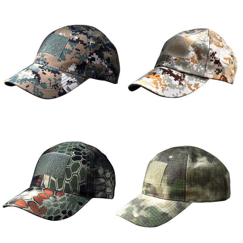 Outdoor Women Men Unisex Tactical Army Camouflage Military American US Flag  Patch Baseball Sport Hat Cap-in Running Caps from Sports   Entertainment on  ... 670fd7b59d