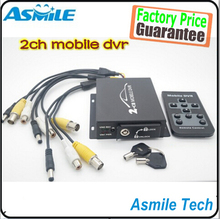 2 Channel Video Input Support SD Card up to 128G mini mobile dvr car black box