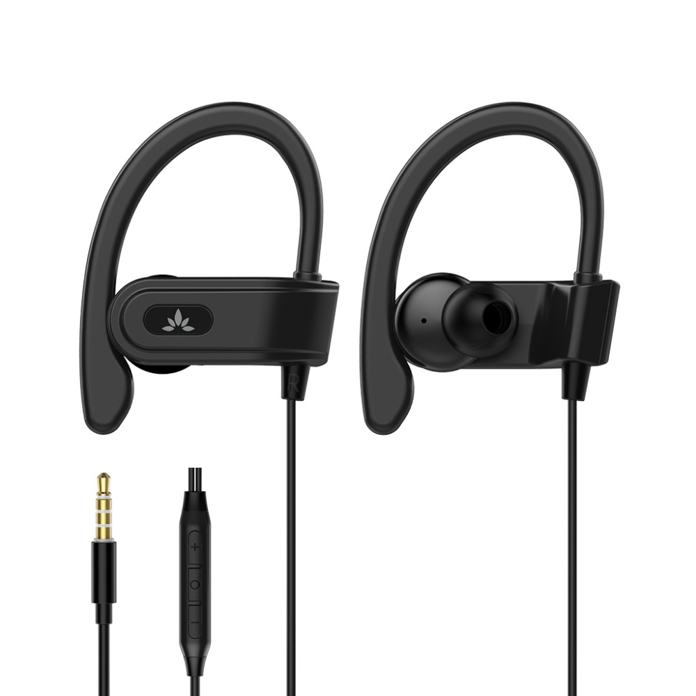 Avantree High Fidelity In-Ear Metal Bass Earphones with Mic and Voice Control Compatible to universal 3.5mm jack device-ADHF-015