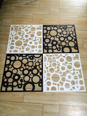 Lovely Room Dividers Screen Partition Entranceway Door Hanging Screen Cutout  Grilles Room Dividers Stickers Tv Wall Stickers 8pcs/lot In Screens U0026 Room  Dividers ...
