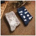 Envío libre Barato 2015 nuevo grupo 18,002,069 Calcetines calcetines de algodón calcetines de reloj y conejos