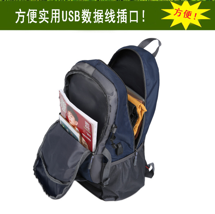 HTB198mlJpmWBuNjSspdq6zugXXa0 40L Waterproof Backpack Hiking Bag Cycling Climbing Backpack Travel Outdoor Bags Men Women USB Charge Anti Theft Sports Bag