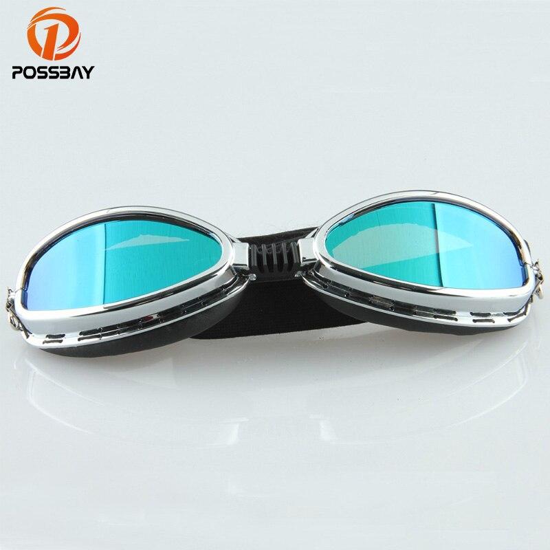 Pilot Cruiser Motocross Goggles Cycling Motorcycle Glasses Ski Goggles Motorbike Biker Helmets Eyewear For Cafe Racer