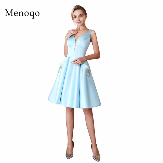 822a2fbac907c with Pockets New Arrival Cocktail Dresses Cute Women 2018 Sleeveless Short  Vestidos Plus Size Sexy Women Cocktail Dresses-in Cocktail Dresses from ...
