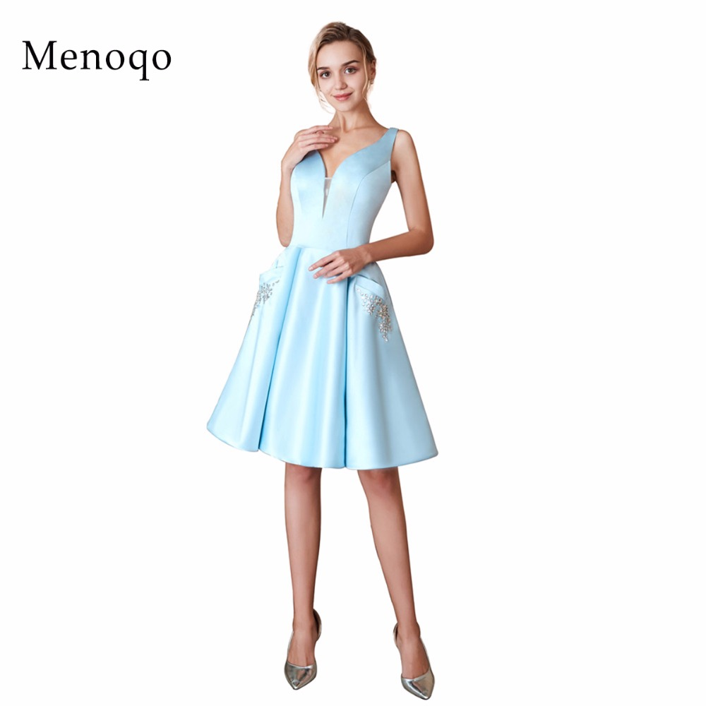 with Pockets New Arrival Cocktail Dresses Cute Women  Sleeveless Short Vestidos Plus Size Sexy Women Cocktail Dresses