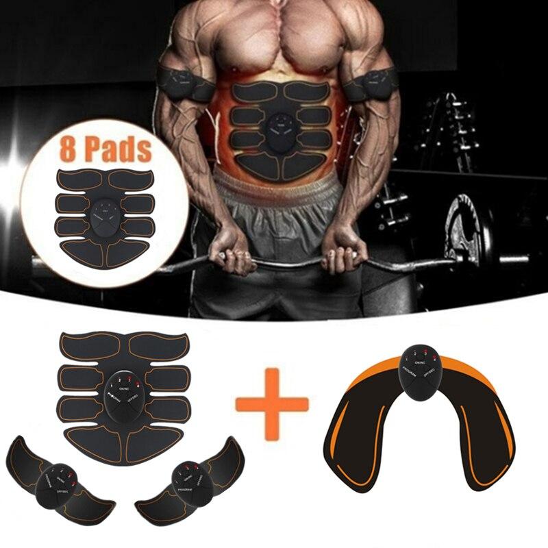 6 modus Smart Elektrische muscle stimulator Bauch ABS ems Hüfte Trainer fitness Gesäß Former Gewicht verlust abnehmen Massage