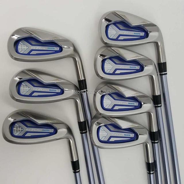 Womens ClubGolf irons HONMA BEZEAL 525 Golf clubs with Graphite L flex 7 piece Free shipping