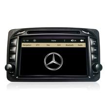 7″ Capacitive Screen Original UI Car DVD GPS Player For Mercedes Benz W203 W208 W209 W210 W463 Vito Viano