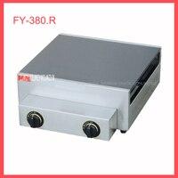 1 шт. высокое качество тип газа коммерческих Бытовая Руководство блинница Креп Машина battercake Maker 2800 PA