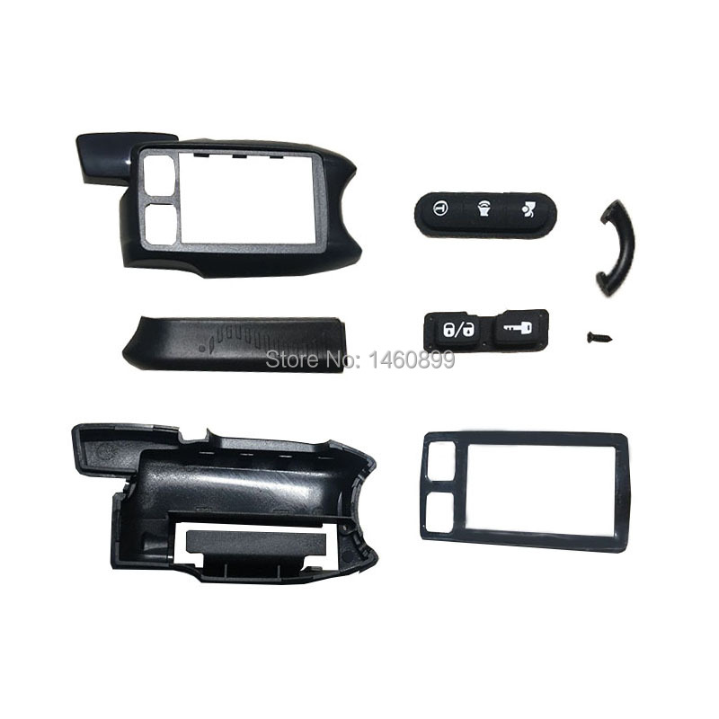 Wholesale TW-9.9 Body Case for Russia Car Alarm TW-9.5 TW-9.3 Tomahawk 9.5 9.9 9.3 LCD Remote Control Keychain TW9.9 TW9.5 TW9.3 image