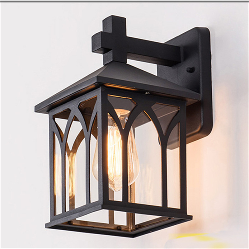 Retro LED Wall Lights Rainproof Outdoor Garden Courtyard Livingroom Lamp Vintage Balcony Aisle Porch Garland Lighting Decoration led outdoor wall sconce wall mounted lamp garden porch light bedside lamp balcony sconce aisle light vintage wall sconces