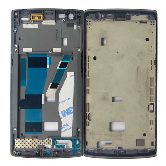Replacment For Oneplus One 1+ A0001 LCD Front Middle Frame Bezel Assembly, Free Shipping&Tracking Number