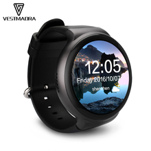 [VESTMADR] I4 Smart Watch MTK6580 Quad-core 1.3GHz 1GB+16GB Support Heart Rate Pedometer 3G WIFI Wristwatch for Android Phone