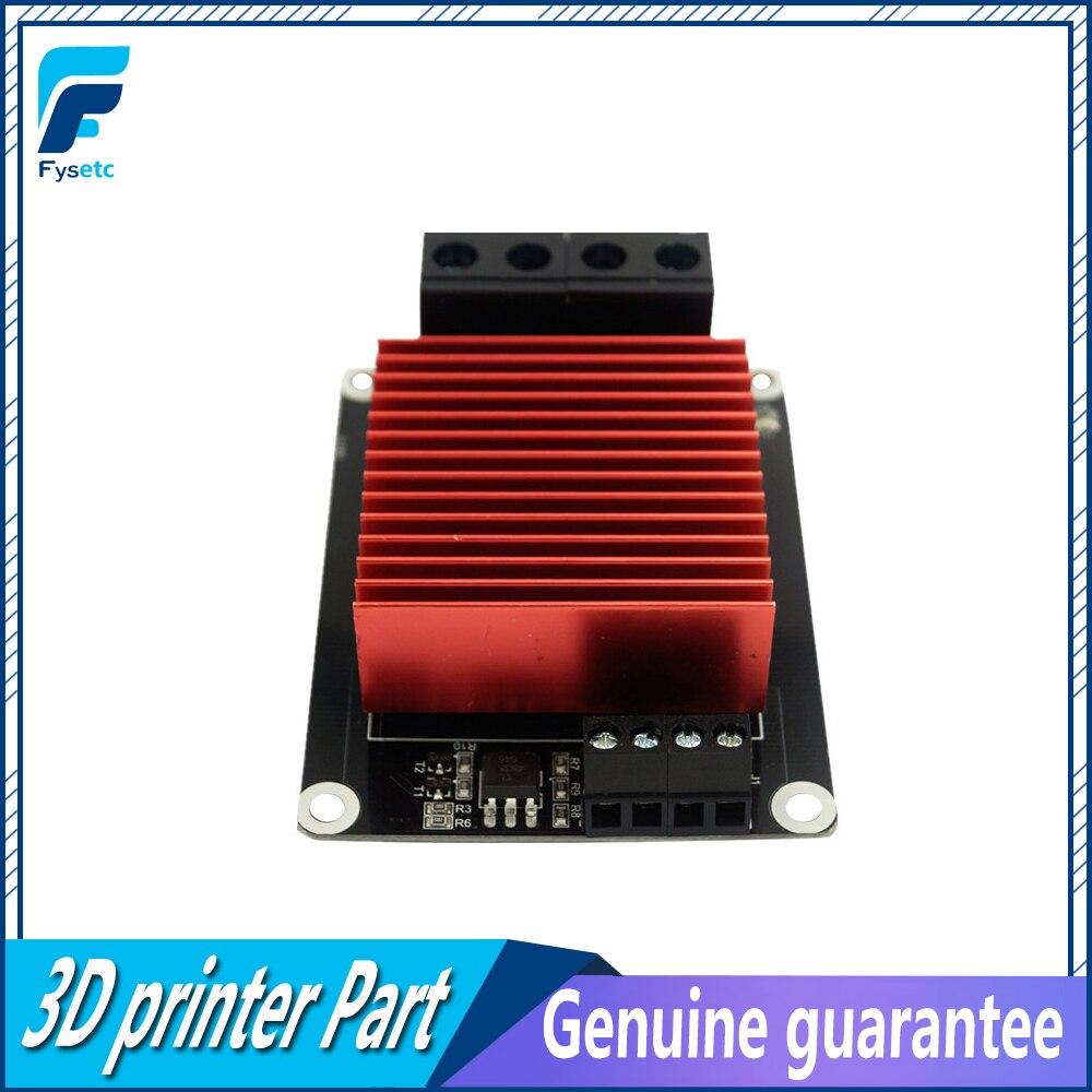 1 unid 3D piezas de la impresora calefacción controlador MOS para MKS MOSFET de Heatbed/extrusora 30A 5-24 V para Ramp1.4 etiqueta 3D piezas de la impresora