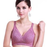 VOGUESECRET cái yếm sexy phụ nữ bra ren bralette unlined dây miễn phí ultra thin cốc cộng với kích thước A B C D E F G 32 34 36 38 40 42