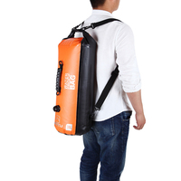 30L Swimming Large Thickened PVC Drifting Bag Waterproof Dry Bag Backpack Rafting Floating Storage Bags Folding Shoulder Bag