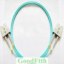 Câble de raccordement Fiber cordon SC SC Multimode OM3 50/125 Duplex GoodFtth 20 100 m