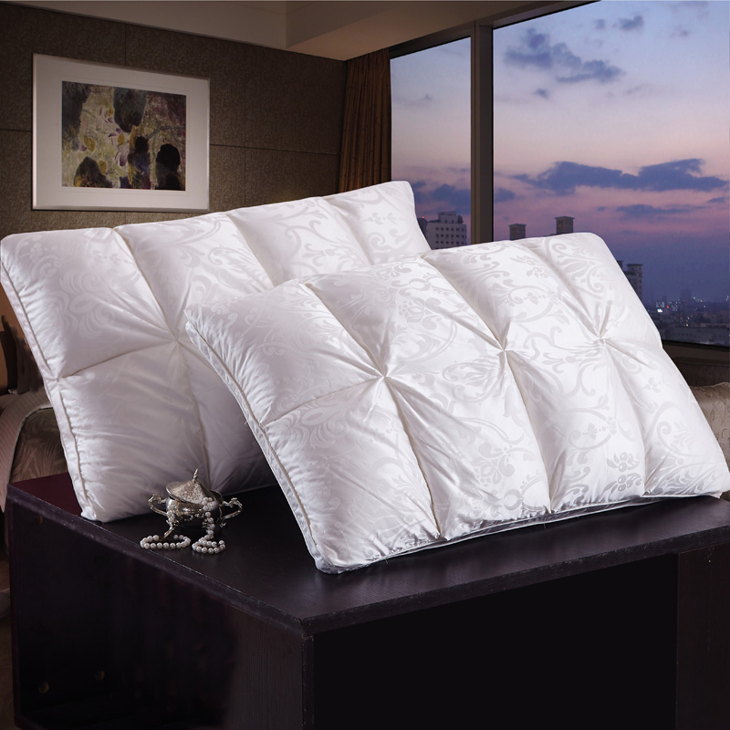 4874cm-chinese-bread-style-rectangle-goose-duck-down-pillows-down-proof-cotton-fabric-white-color-bedding-soft-pillow