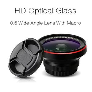 Image 2 - TOKOHANSUN kamera lens 4k HD 0.6x geniş açı + 15x makro Lens IPhone 7 6s 5s 8 X XS se artı cep telefonu akıllı telefon