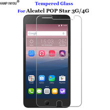 "For Alcatel POP Star Tempered Glass 9H 2.5D Premium Screen Protector Film For Alcatel One Touch POP Star 3G 4G 5022D 5070D 5.0""(China)"