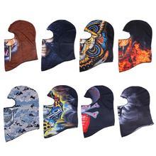 Outdoor Sports Skull Face Mask Winter UV Protect Cycling Breathable Windbreak Dustproof Riding Cap Headscarf MTB Road Bike Masks