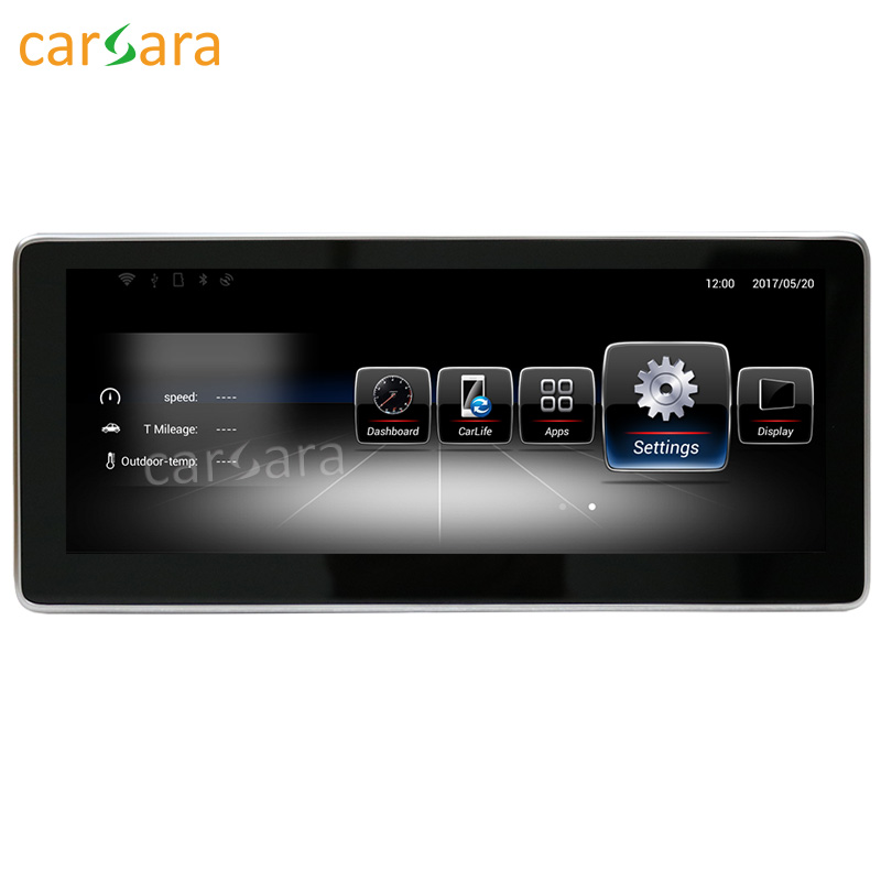 carsara Android Navigation display for Benz CLA GLA A Class W176 2013 15 10.25 touch screen GPS stereo dash multimedia player