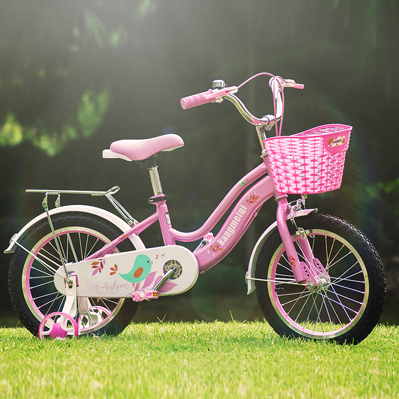 Children's bike girl 3 years old girl 5 years old Princess 4 years old princess bike help step car beibei cassie lb 363 car seats between 0 and 4 years old