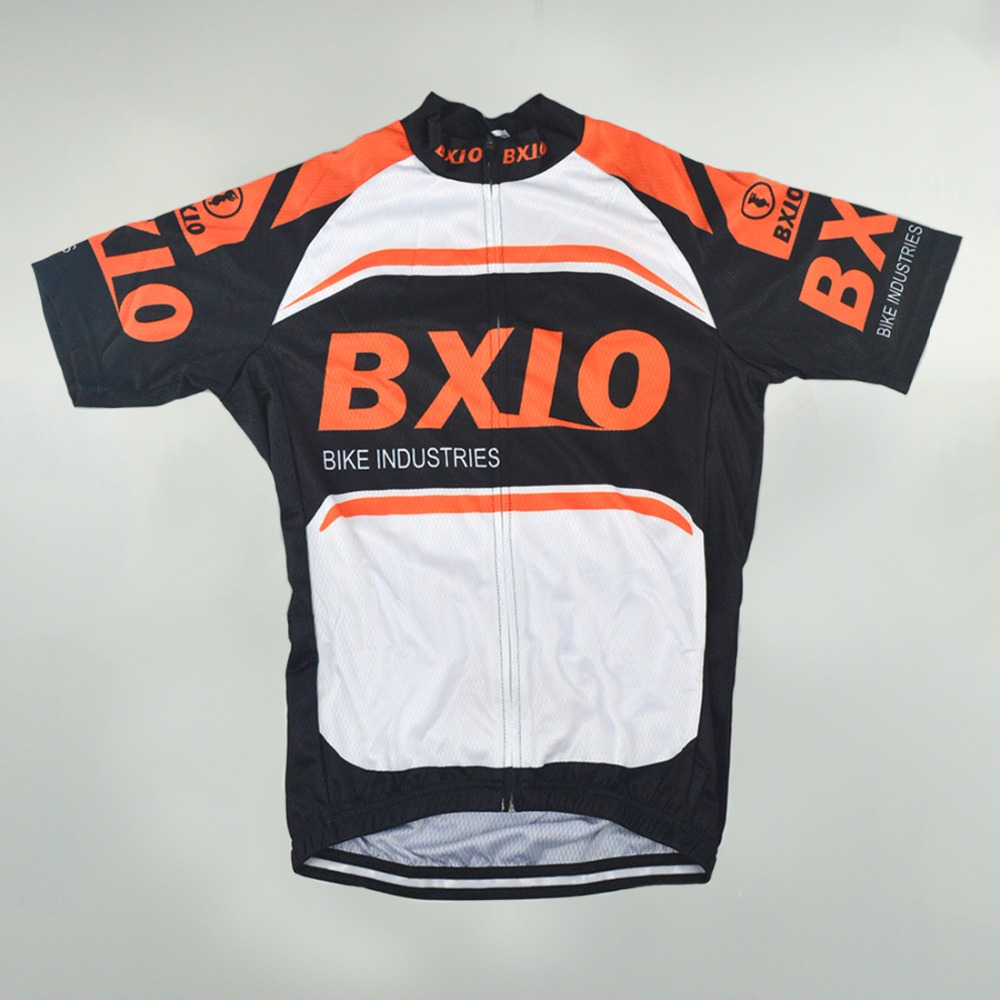 6fa7aa57d BXIO Orange Cycling Jerseys Pro Team Short Sleeve Bicycle Jersey MTB  Breathable Quick Dry Bike Clothing Ropa Ciclismo BX 007 J-in Cycling Jerseys  from ...